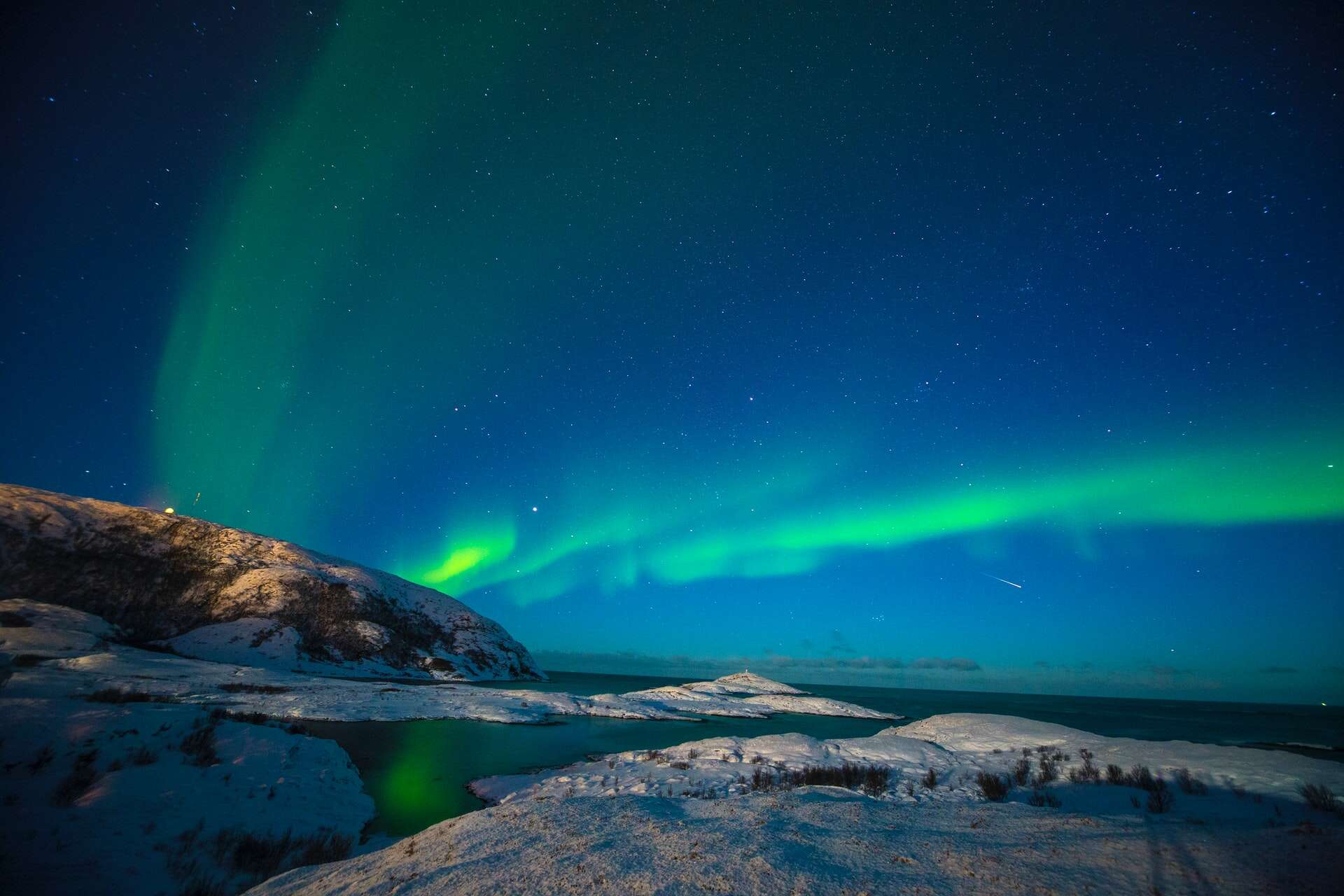 If you have ever wanted to see the Northern Lights, this is the way to do it!