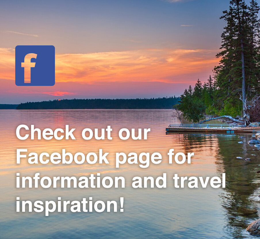 Check out our Facebook page for information and travel inspiration!