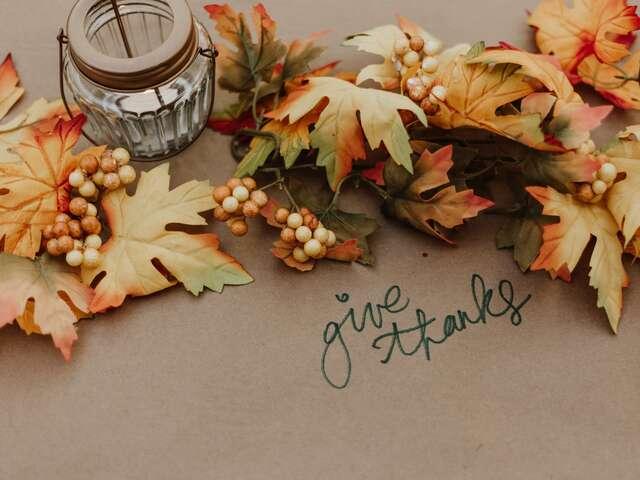 NEWSFLASH for Thanksgiving week!