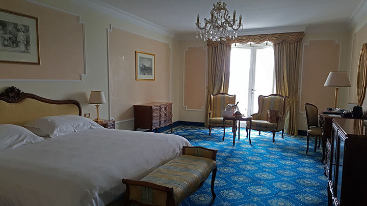 Deluxe Panorama room at Abano Terme