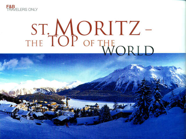 St. Moritz – The Top of the World
