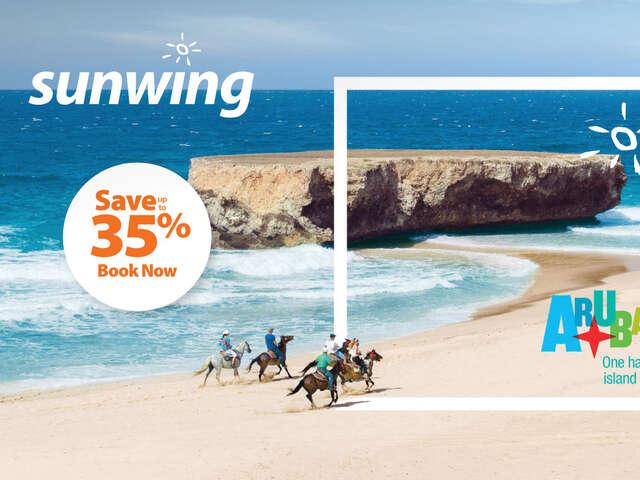 SUNWING ARUBA | One happy island