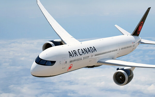 Book your flight with Air Canada