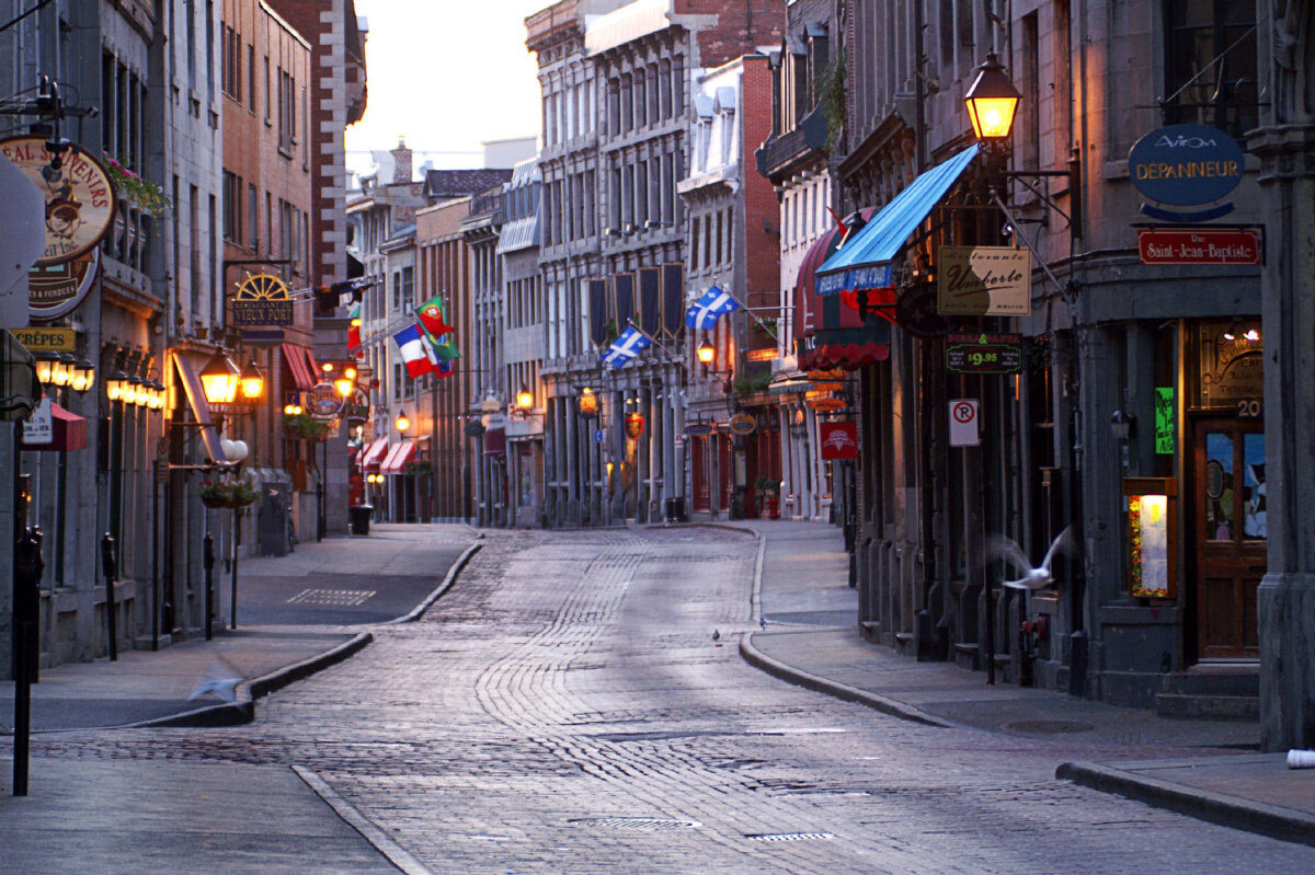 European history, culture and design meet a vibrant North American city in Montreal, and nowhere is that more evident than in the Old Port section of the city.