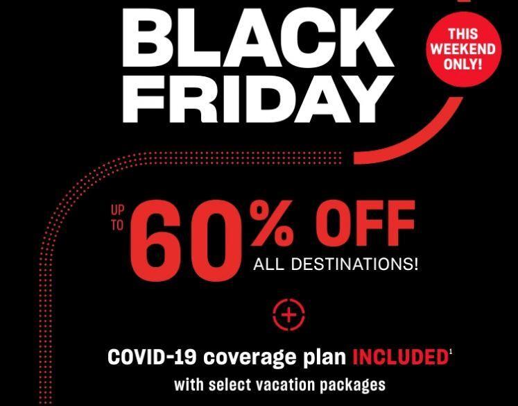 Air Canada Vacations Black Friday Specials