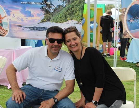 Milica and her husband Darko at Bunny Days Mission Viejo event March 2018