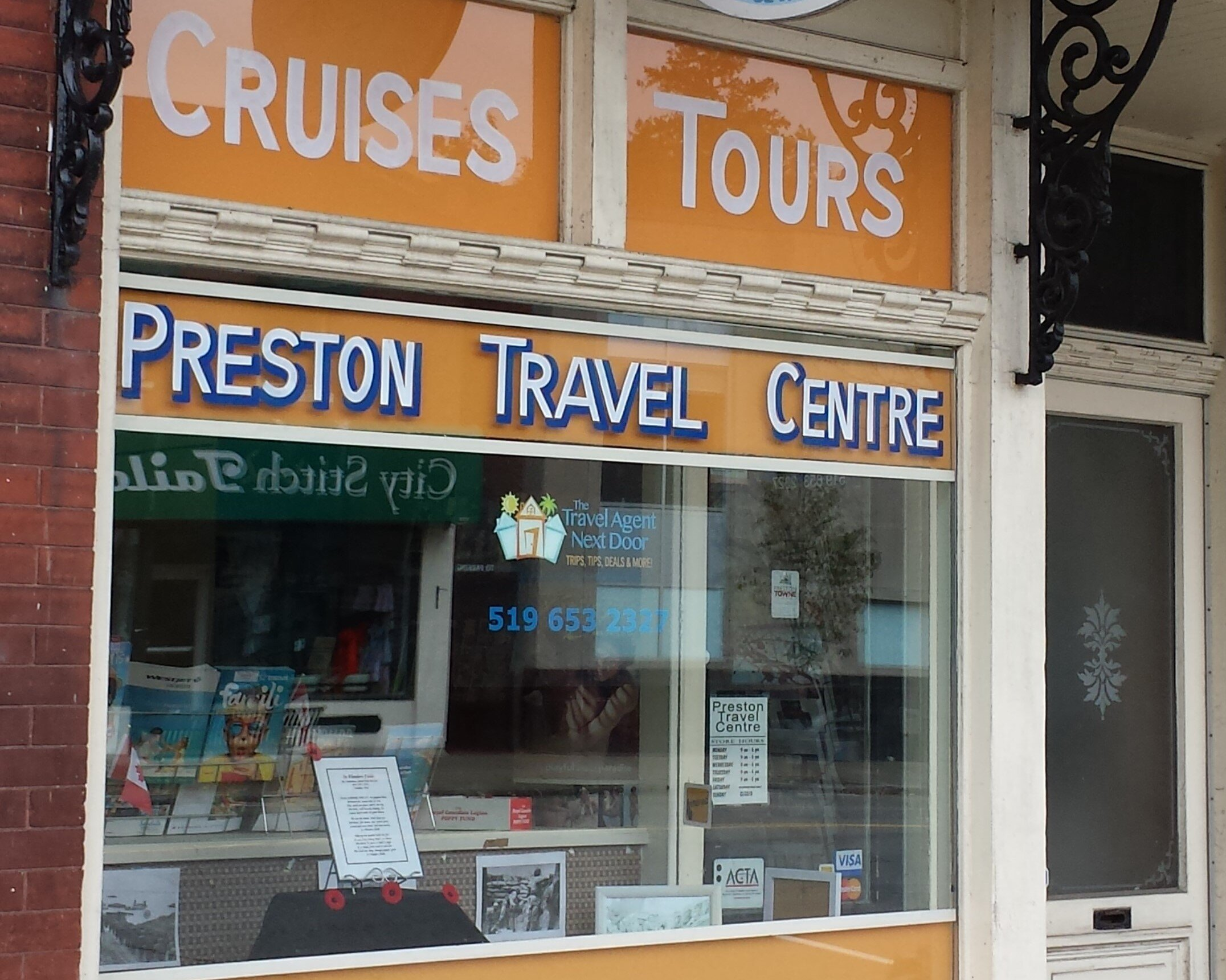 PRESTON TRAVEL THE TRAVELAGENTNEXTDOOR