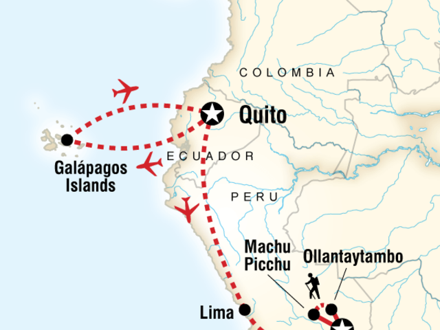 Galápagos Central Islands & Inca Discovery