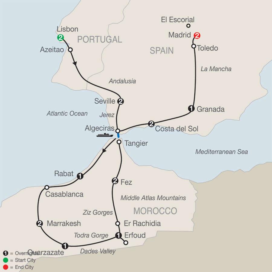 Globus Tours Morocco