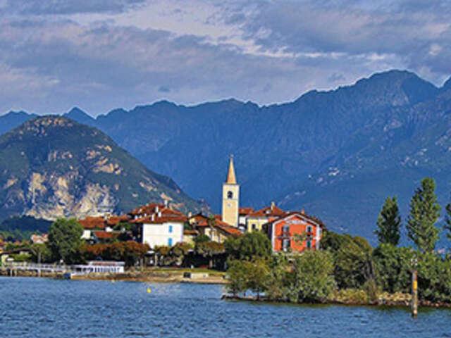 Italian Vista with Lake Maggiore
