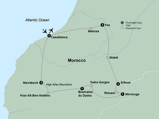 Highlights of Morocco