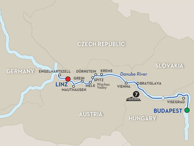 Active Discovery on the Danube – Cruise Only Westbound