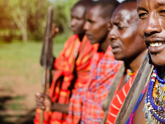 Local Living Kenya—Masai Village