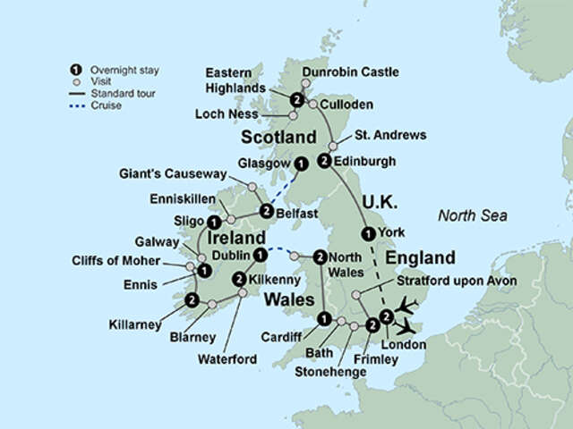 Best of Britain and Ireland