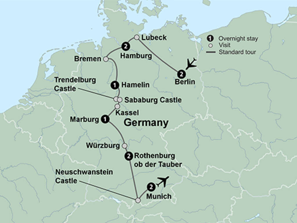 Fairy Tale Road Germany Tour