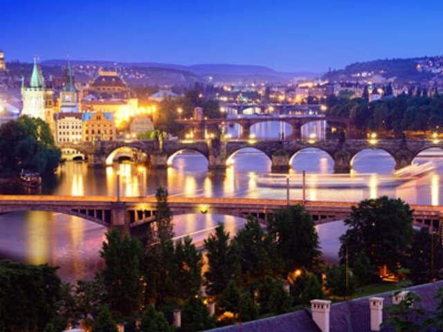 Prague to London Adventure