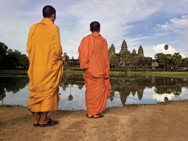 Ancient Angkor Wat