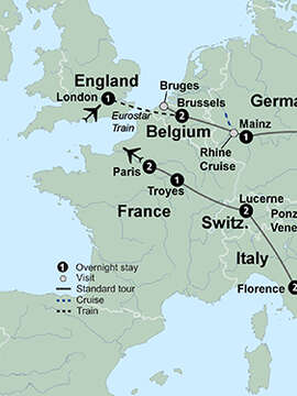 The Complete European Journey