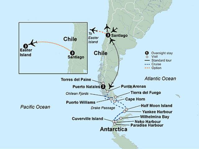 Antarctica & Chile's Patagonia