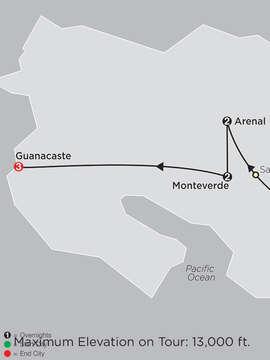Costa Rica Escape with Guanacaste
