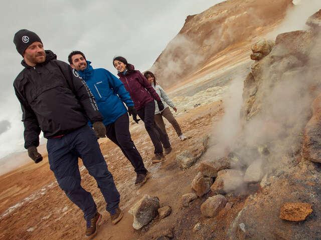 Trekking in Iceland