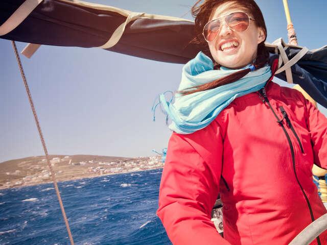 Sailing Greece - Santorini to Santorini