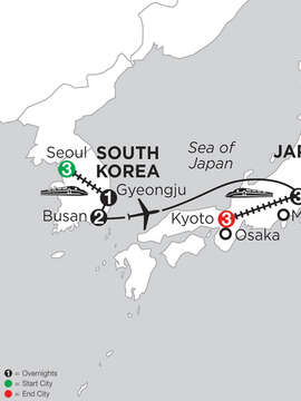 South Korea & Japan Highlights