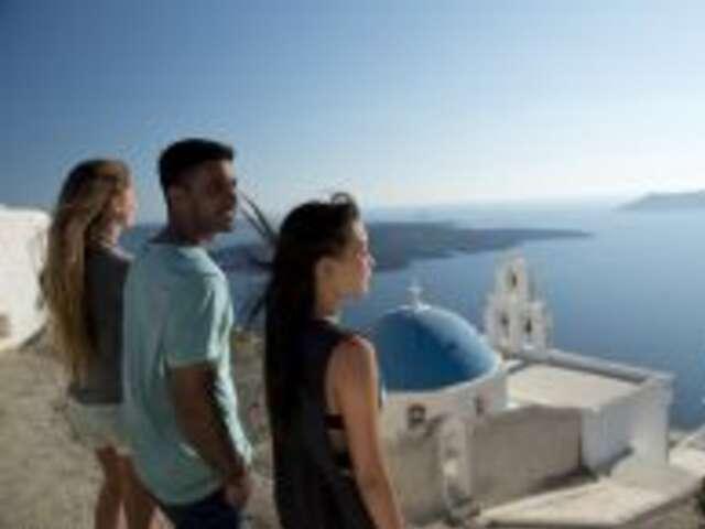 Island Cruising & Santorini (Start Athens, end Athens)