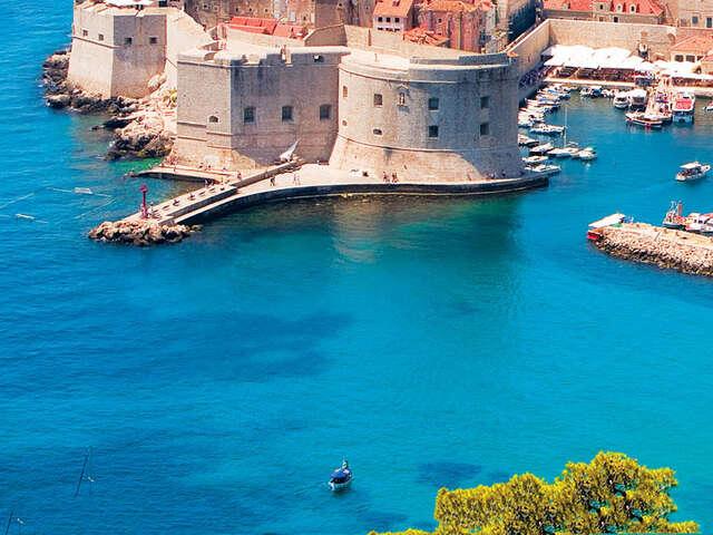 Croatian Island Hopper North (Start Dubrovnik) (On or above deck cabin, start Dubrovnik, end Split)