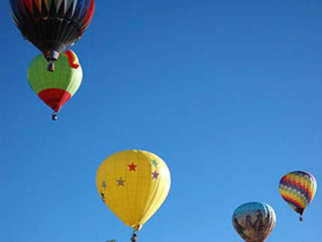 Albuquerque Balloon Fiesta with Santa Fe