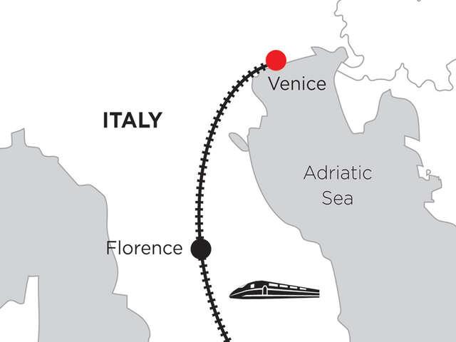 2 Nights Rome, 3 Nights Florence & 3 Nights Venice