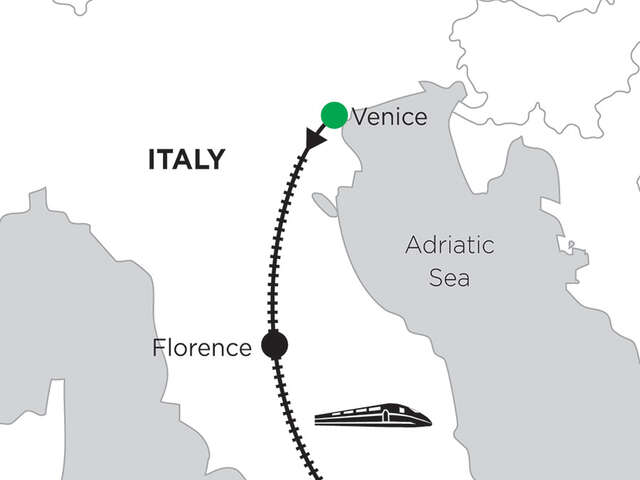 4 Nights Venice, 5 Nights Florence & 2 Nights Rome
