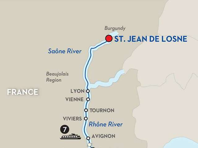Burgundy & Provence for Wine Lovers - Cruise Only