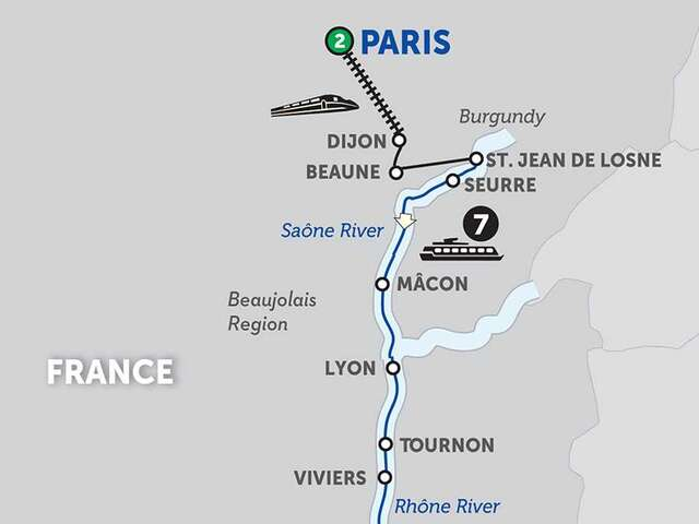 Burgundy & Provence with Aix-en-Provence & Nice for Wine Lovers - Southbound