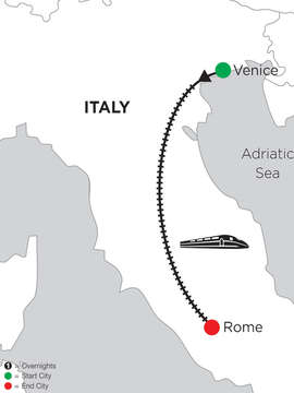 4 Nights Venice & 4 Nights Rome