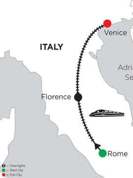 2 Nights Rome, 4 Nights Florence & 2 Nights Venice