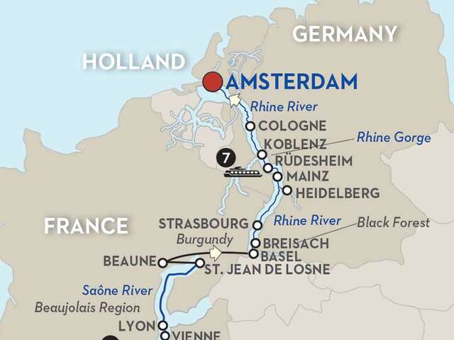 Sounds of Jazz on the Rhine & Rhône Revealed - Cruise Only