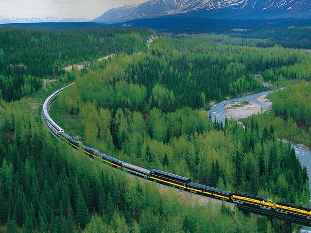 Vancouver & Alaska by Ferry & Rail