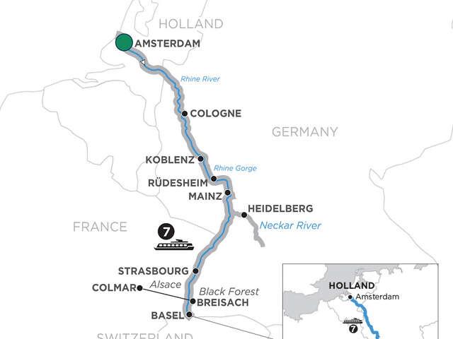 Romantic Rhine & Jewish Heritage with 1 Night Lucerne, Mount Pilatus & 3 Nights Lake Como