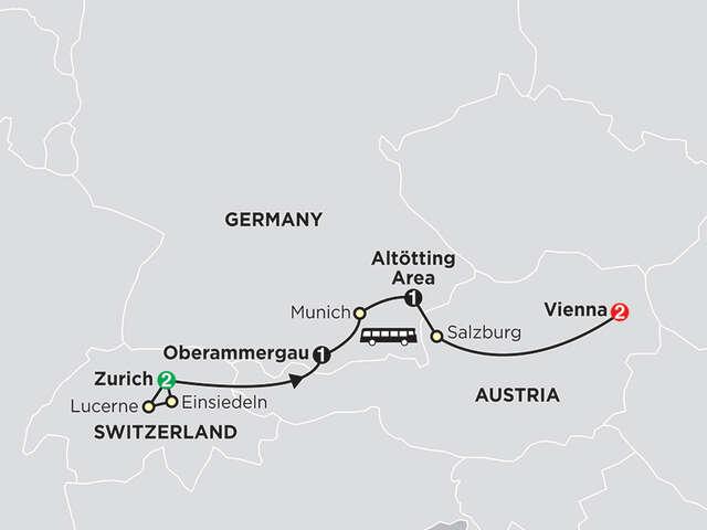 Shrines of Alpine Europe - Faith-Based Travel