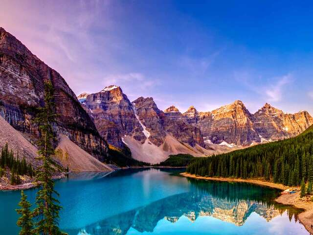 Spectacular Canadian Rockies with Rocky Mountaineer Goldleaf and Alaska Cruise Oceanview Stateroom Summer 2019
