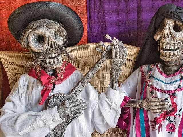 Mexico Day of the Dead in Oaxaca