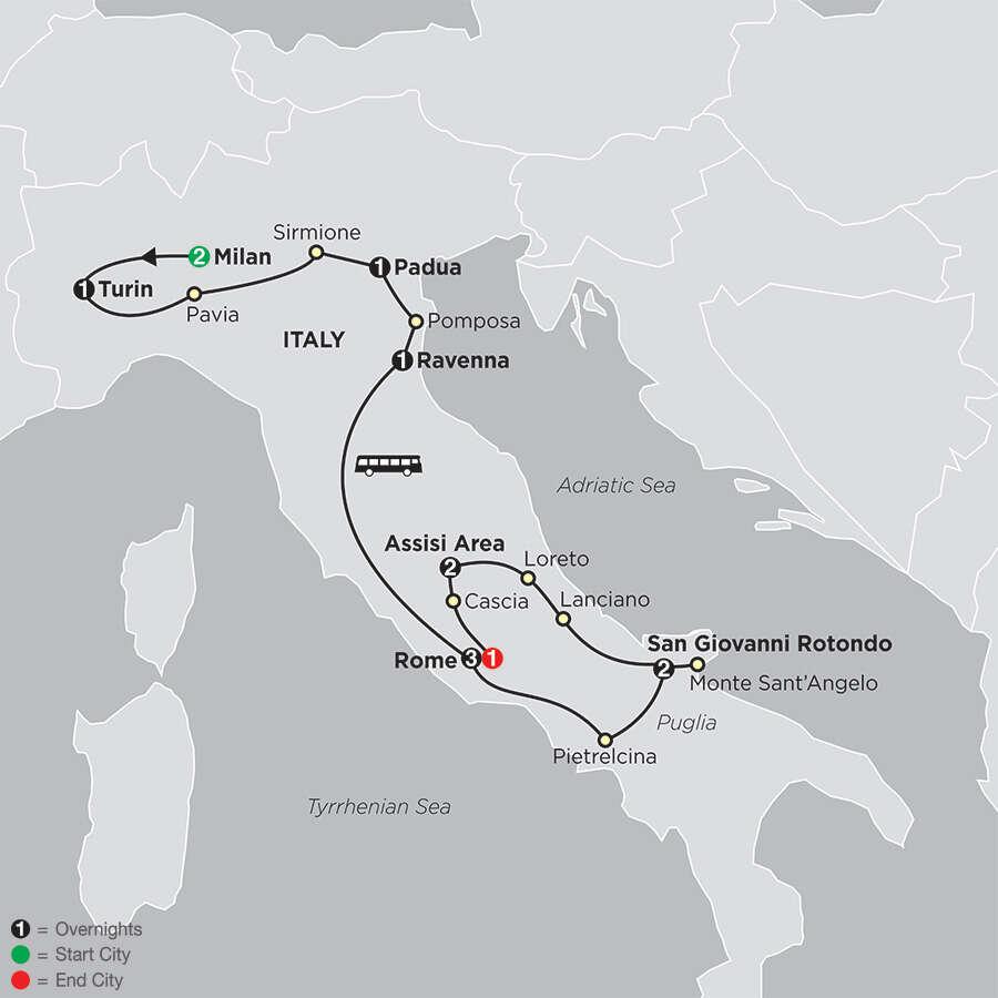 Shrines of Italy - Faith-Based Travel