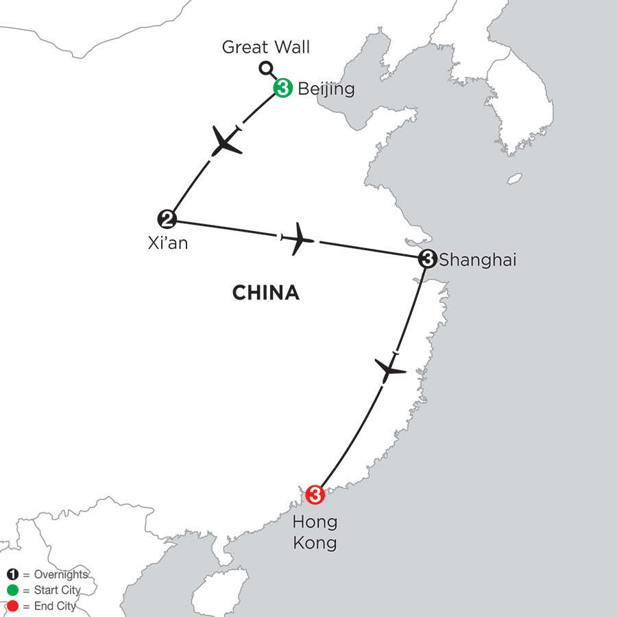 Essential China with Hong Kong
