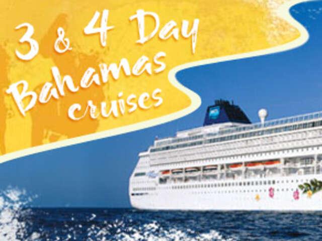3- DAY BAHAMAS FROM MIAMI - FREE OPEN BAR