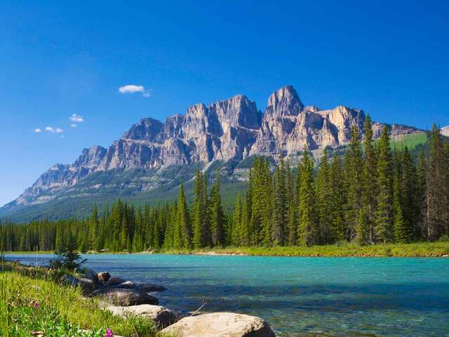 Iconic Rockies and Western Canada with Calgary Stampede Goldleaf Ocean View Cruise Summer 2019