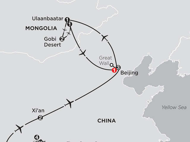 Spirit of China & the Yangtze River with Mongolia