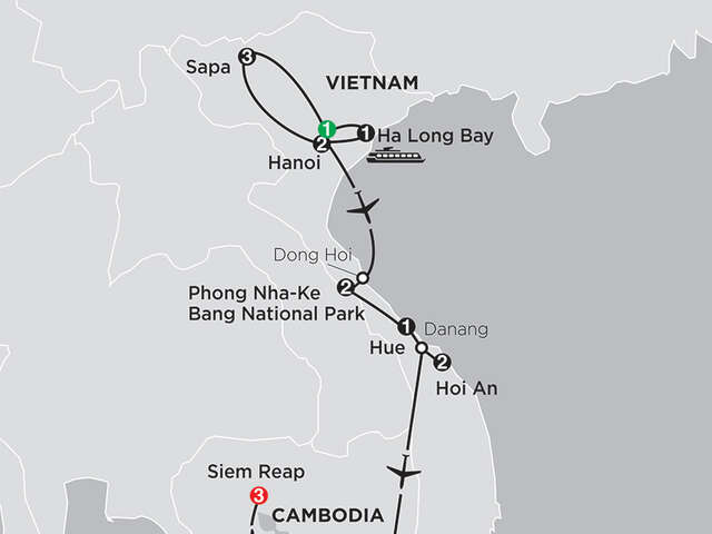 Simply Vietnam with Sapa & Cambodia