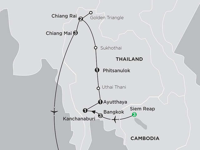 Thailand Experience with Siem Reap & Phuket