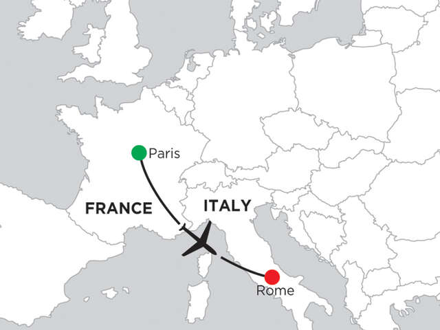 3 Nights Paris & 3 Nights Rome